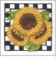 Fun in the Sunflowers Embroidery Designs by Dakota Collectibles on a CD-ROM 970150