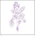 Very Fairy II by Loralie Designs Embroidery Designs on a Multi-Format CD-ROM 630093