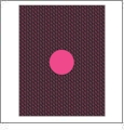 Wave with Circle 3 - QuickStitch Embroidery Paper - One 8.5in x 11in Sheet - CLOSEOUT