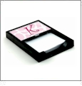 Memo Holder - Black Holder Acrylic Embroidery Blank - CLOSEOUT