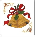 Christmas Pack 12 Embroidery Designs by Dakota Collectibles on a CD-ROM