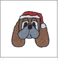Christmas Pack 9 Embroidery Designs by Dakota Collectibles on a CD-ROM