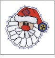 Christmas Pack 8 Embroidery Designs by Dakota Collectibles on a CD-ROM