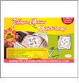 Magna-Quilter for Quick Snap - Baby Lock & Brother 6 Needle Embroidery Machine Hooping Aid PLUS 140 BONUS QUILTING DESIGNS