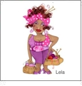 Colorful Ladies 3  by Loralie Designs Embroidery Designs on a Multi-Format CD-ROM 630096