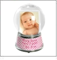 Create Your Own Snow Globe - Large - Acrylic Embroidery Blank - CLOSEOUT