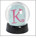 Create Your Own Snow Globe Small - Black - Acrylic Embroidery Blank - CLOSEOUT