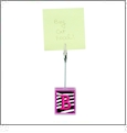Photo Clip - Hot Pink - Acrylic Embroidery Blank - CLOSEOUT
