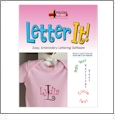 Letter It Embroidery Lettering Software from Amazing Designs AD-LI