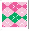 Argyle 12 - QuickStitch Embroidery Paper - One 8.5in x 11in Sheet