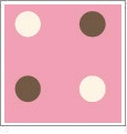 Polka Dot - QuickStitch Embroidery Paper - One 8.5in x 11in Sheet