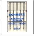 Schmetz Leather Sewing Needles 80/12 - 5 Needle Pack