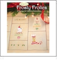 Frosty Frolics by Debbie Taylor-Kerman Embroidery Designs on a Multi-Format USB Stick USB-006