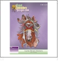 Lynn Bean Horses Collection Embroidery Designs by Great Notions on a CD-ROM CMC-LB1