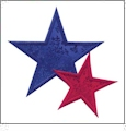 Applique Quilting Stars Designs Embroidery Designs by Amazing Designs on a Multi-Format CD-ROM ADC-200