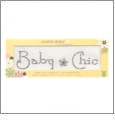 "Baby Chic - Crystal Daisy Baby 1"" x 4.75"" Iron-On Crystals by Mark Richards CLOSEOUT"