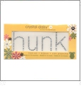 "Hunk - Crystal Daisy Baby 1.25"" x 3.25"" Iron-On Crystals by Mark Richards CLOSEOUT"