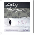 Sterling Monograms Embroidery Designs on a Multi-Format USB Stick USB-010