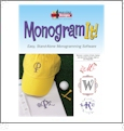 Monogram It Embroidery Lettering and Monogramming Software from Amazing Designs AD-MI