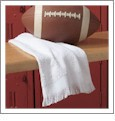 "Spirit Towel 11"" x 18"" 12/pk Embroidery Blanks - White"
