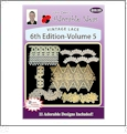 Vintage Lace 6th Edition Volume 5 Embroidery Designs by John Deer's Adorable Ideas - Multi-Format CD-ROM AIML6v.5