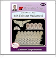 Vintage Lace 6th Edition Volume 6 Embroidery Designs by John Deer's Adorable Ideas - Multi-Format CD-ROM AIML6v.6