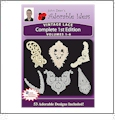 Vintage Lace 1st Edition Bundle Pack Volumes 1-6 Embroidery Designs by John Deer's Adorable Ideas - Multi-Format CD-ROM 027989