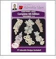Vintage Lace 4th Edition Bundle Pack Volumes 1-6 Embroidery Designs by John Deer's Adorable Ideas - Multi-Format CD-ROM Lace4thEdBundle