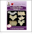 Vintage Lace 5th Edition Bundle Pack Volumes 1-6 Embroidery Designs by John Deer's Adorable Ideas - Multi-Format CD-ROM Lace5thEdBundle