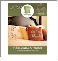 Blossoms & Bows Embroidery Designs By Oklahoma Embroidery on Multi-Format CD-ROM