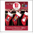 Enchanted Christmas Applique Embroidery Designs By Oklahoma Embroidery on Multi-Format CD-ROM