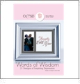 Words of Wisdom Embroidery Designs By Oklahoma Embroidery on Multi-Format CD-ROM