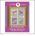A Touch Of Cross Stitch Embroidery Designs By Oklahoma Embroidery on Multi-Format CD-ROM