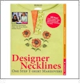 Designer Necklines - One Step T-Shirt Makeovers Embroidery Designs