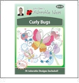 Curly Bugs Embroidery Designs by John Deer's Adorable Ideas on a Multi-Format CD-ROM AICUR