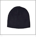 "8.5"" Knit Beanie Embroidery Blanks - Navy"