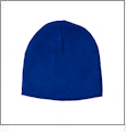 "8.5"" Knit Beanie Embroidery Blanks - Royal Blue"