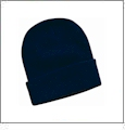 "12"" Solid Knit Beanie Embroidery Blanks - Navy"
