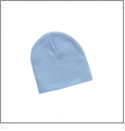 "8"" Knit Beanie Embroidery Blanks - Baby Blue"