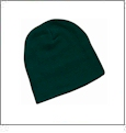 "8"" Knit Beanie Embroidery Blanks - Forest"