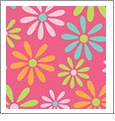 Daisy 1 - QuickStitch Embroidery Paper - One 8.5in x 11in Sheet