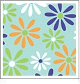 Daisy 3 - QuickStitch Embroidery Paper - One 8.5in x 11in Sheet