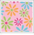 Daisy 2 - QuickStitch Embroidery Paper - One 8.5in x 11in Sheet - CLOSEOUT