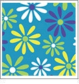 Daisy 4 - QuickStitch Embroidery Paper - One 8.5in x 11in Sheet