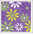 Daisy 5 - QuickStitch Embroidery Paper - One 8.5in x 11in Sheet - CLOSEOUT