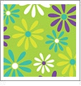 Daisy 6 - QuickStitch Embroidery Paper - One 8.5in x 11in Sheet