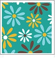 Daisy 8 - QuickStitch Embroidery Paper - One 8.5in x 11in Sheet - CLOSEOUT