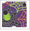 Halloween 1 - QuickStitch Embroidery Paper - One 8.5in x 11in Sheet- CLOSEOUT