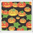 Halloween 2 - QuickStitch Embroidery Paper - One 8.5in x 11in Sheet- CLOSEOUT