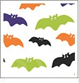 Halloween 4 - QuickStitch Embroidery Paper - One 8.5in x 11in Sheet- CLOSEOUT